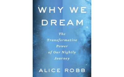 """""""Why We Dream: The Transformative Power of Our Nightly Journey"""" by Alice Robb"""