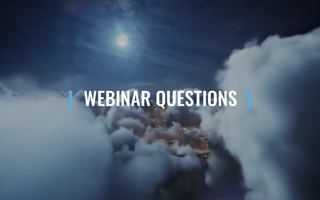 Webinar 17: Question and Answer