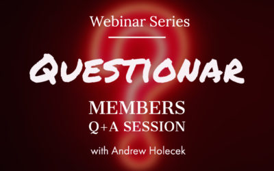 "Webinar #37 – ""Questionar"" Q+A Session"
