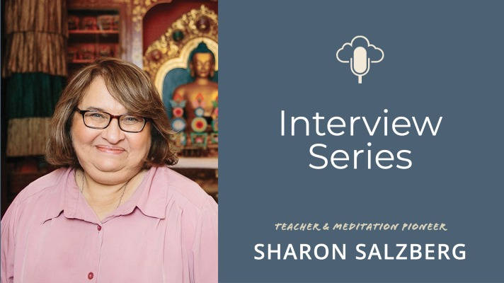 The Place Of Meditation And Spirituality In Politics And World Affairs With Sharon Salzberg [#36]