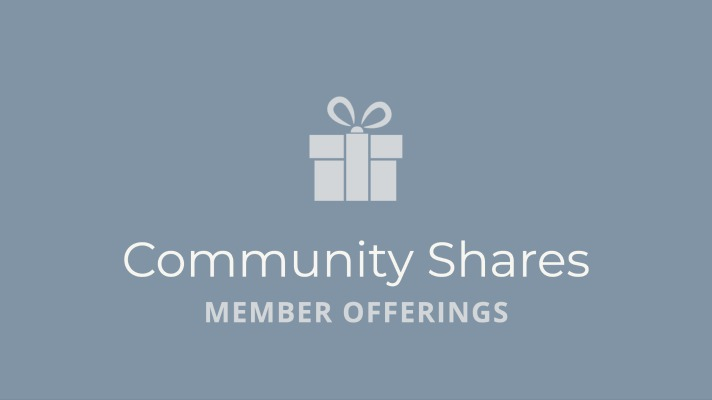 Community Shares with Katie Love [#2]